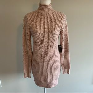 Abercrombie & Fitch cable knit sweater dress